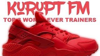 Grindah & Beatz (Kurupt Fm) Top 3 WORST Ever Trainers [Trainer Game] Grime Report Tv