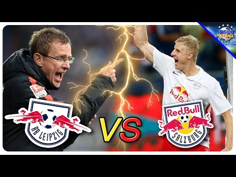 Fußball: RB Salzburg vs RB Leipzig - Delegiert das  ...