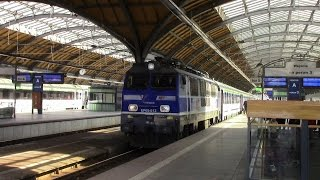 Zabrze Poland  city photo : Poland Railway Journey Strzelce Opolskie - Zabrze PKP Intercity IC 63102