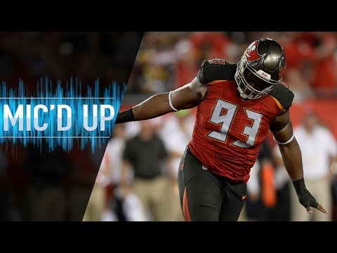 Video: Gerald McCoy Mic'd Up vs. Steelers
