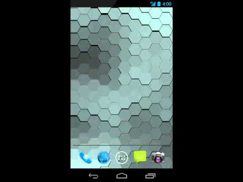Video of Live Wallpaper - Hex Scales