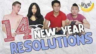 Video 14 New Year Resolutions MP3, 3GP, MP4, WEBM, AVI, FLV April 2019