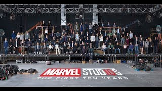 "VIDEO: Marvel""s 10th Anniversay Photo"