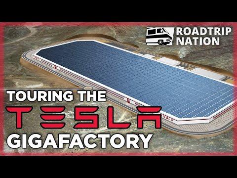 Go behind the scenes of Tesla's Gigafactory 1! | Roadtrip Nation