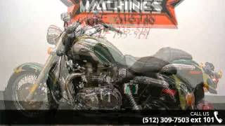 9. 2005 Triumph America  - Dream Machines Indian Motorcycle ...