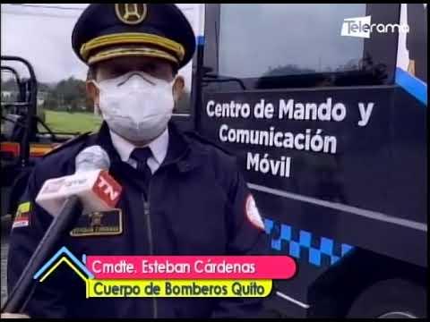 2.095 funcionarios brindarán seguridad en Quito este feriado