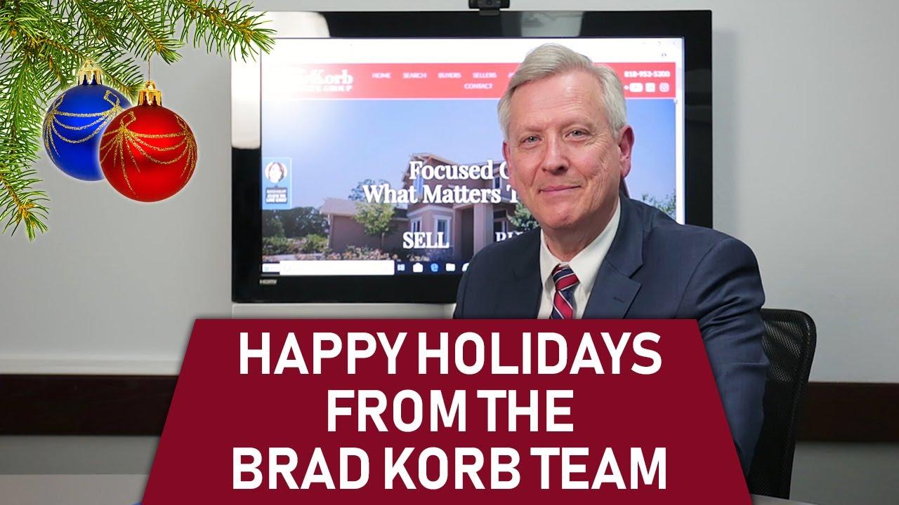 Happy Holidays From the Brad Korb Team