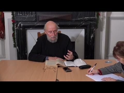 CDS Paris, 3 janvier 2019: P. Marc-Antoine Costa de Beauregard - Théologie dogmatique