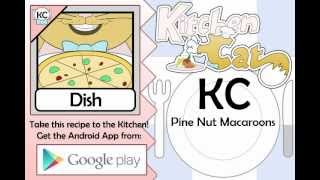KC Pine Nut Macaroons YouTube video