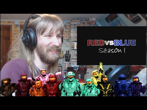 And So It Begins! | Ryan Reacts To Red Vs  Blue: Episode 1 - Why Are We Here