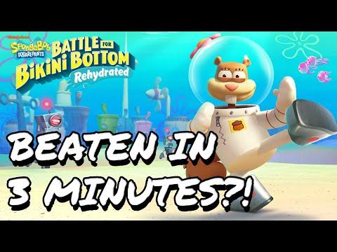 How to Beat Spongebob: Battle for Bikini Bottom in Under 3 Minutes