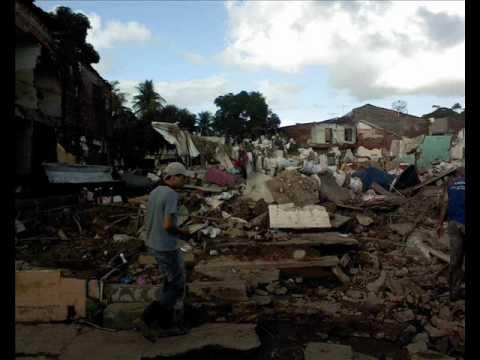 Enchente em Palmares - Junho 2010.wmv