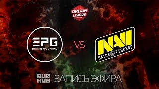 EPG vs Natus Vincere, DreamLeague Season 7, game 1 [Lex, LightOfHeaven]