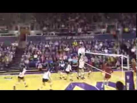 UW vs. Stanford Women's Volleyball Match (10/20/13)