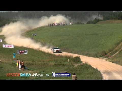Vídeo mejores momentos etapa 2 WRC Rallye Polonia 2015 by bestofrallylive