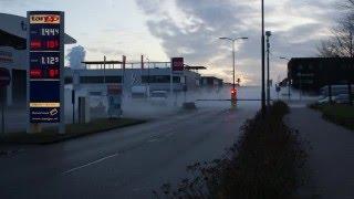 Brandweer Bunschoten rukt uit naar de Handelsweg