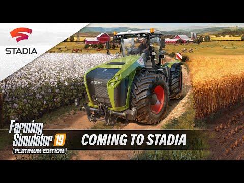 FS19 Official Stadia Connect Trailer v1.0