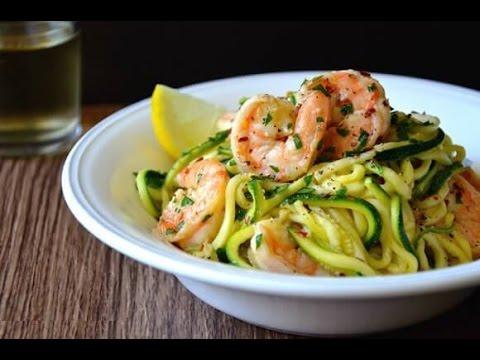 spaghetti di zucchine - ricetta
