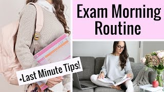 Exam Morning Routine + Last Minute Exam Tips & Advice! I hope you all enjoy my tips for how to prepare for your exams and stress less! Good luck to everyone ...