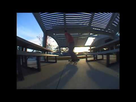 RobbySkateboard - robby throwing down a sick line: Airwalk then nose manny. check him out!