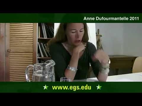 Anne Dufourmantelle. Die Philosophie der Sexualität und Körper. 2011