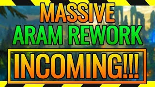 ARAM REWORKED!! | Bans, new items, and MORE? RIOT DID A GOOD!!!