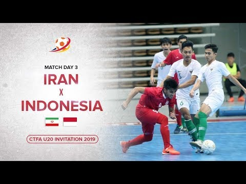 Indonesia kalahkan Raja Futsal Asia! Iran (1) VS (3) Indonesia - CTFA U20 Invitation 2019 Highlights