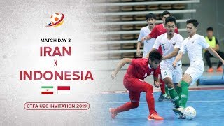Download Video Indonesia kalahkan Raja Futsal Asia! Iran (1) VS (3) Indonesia - CTFA U20 Invitation 2019 Highlights MP3 3GP MP4