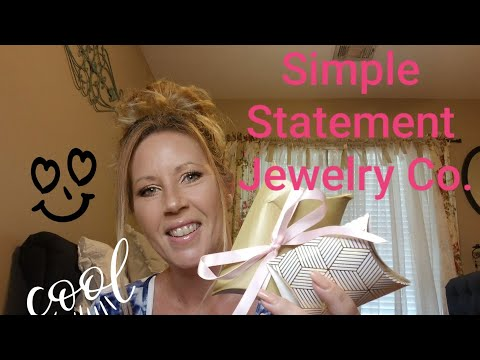 Simple Statement Jewelry Co. NEW July 2019! Love it or chuck it?