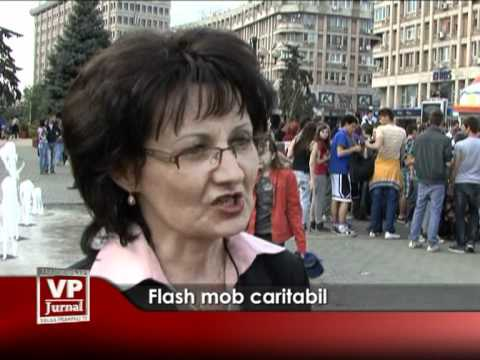 Flash mob caritabil