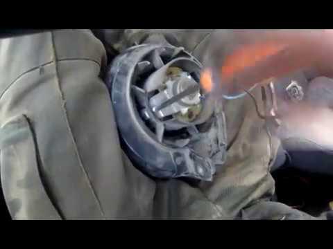 Замена моторчика печки ваз 2109