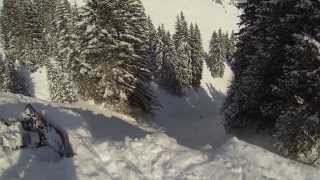 Fieberbrunn Austria  city photo : GO PRO HD Hero 3 Snowboarding Fieberbrunn Austria