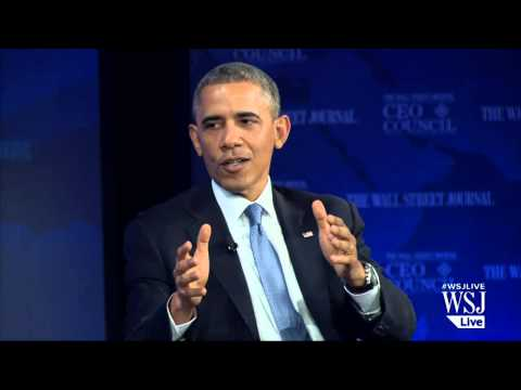 Barack Obama at WSJ CEO Council: Full Interview