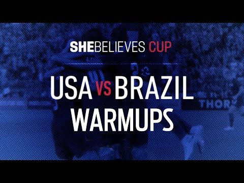 LIVE USA vs Brazil Pregame Warmups | 2019 SheBelieves Cup | FOX SOCCER - Thời lượng: 15 phút.