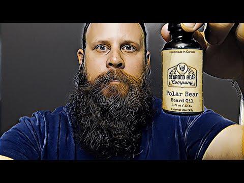 Beard Oil Review  The Beard Beard Company  Polar Bear