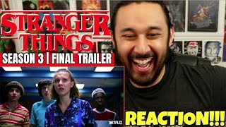 STRANGER THINGS | Season 3 | FINAL TRAILER - REACTION!!! by The Reel Rejects