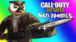 Video COD WW2 Zombies Funny Moments - Darkest Shore DLC and Easter Egg Attempt! MP3, 3GP, MP4, WEBM, AVI, FLV Mei 2019