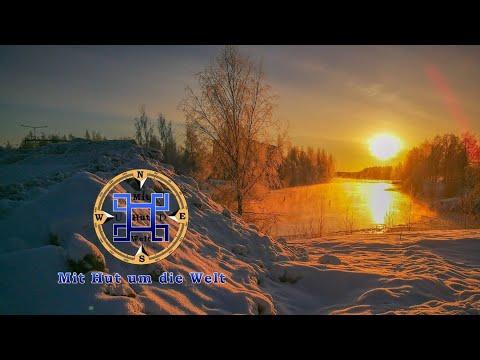 Durch die eisige Kälte Finnlands