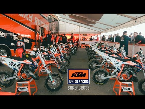 Inside the KTM Junior Supercross - Dirt Bike Magazine