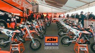 8. Inside the KTM Junior Supercross - Dirt Bike Magazine