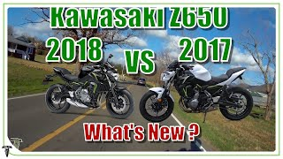 7. 2018 Kawasaki Z650   What's New and What Accessories are Available
