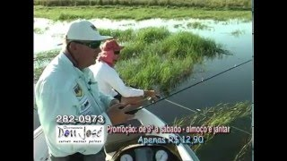 Pesca Dinâmica - Pescaria de Tucunarés em Rubinéia - SP - Parte - 2