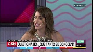 C5N - TardeXTRA: Entrevista a Kiara Acosta y Agustín Vega