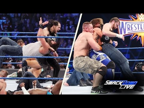 Video WWE Smackdown 2 21 2017 Highlights HD || WWE Smackdown 21 February 2017 Highlights HD download in MP3, 3GP, MP4, WEBM, AVI, FLV January 2017