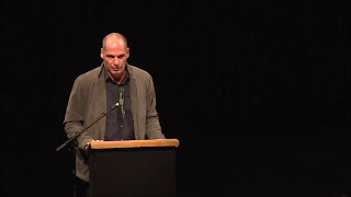 The Launch of DiEM25 at Volksbühne Theatre