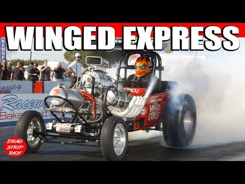 Winged Express at the 2012 Bakersfield March Meet