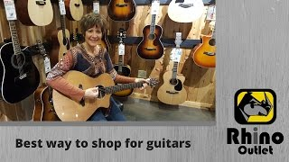 Shopping for a Guitar in Nashville, TN