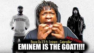 "Royce da 5'9"" - Caterpillar ft. Eminem, King Green (REACTION!)"