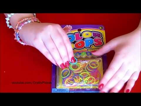 Rainbow Loom Rubber Band Haul – Dollar Store Rubber Bands for Bracelets, Rings, Charms, Twistz Bandz