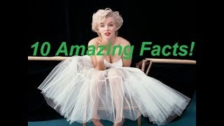 10 Facts About Marilyn Monroe You Didn't KnowMarilyn Monroe was an American actress, model, and singer, who became a major sex symbol, starring in a number of commercially successful motion pictures during the 1950s and early 1960s. Here is 10 Intresting facts about her you probably diden't know!Open for requests comment what videos you want to see next!Click below to Subscribe for daily fact videos!▶  http://bit.ly/1dAbHBd